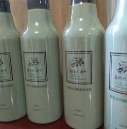 Shampoo moisturizing hair. Korea