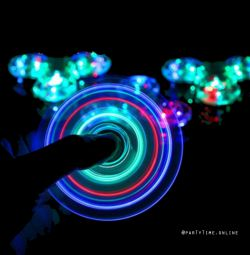 💚 Spinner transparent LED Luminous