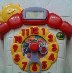 Interactive educational toy watch