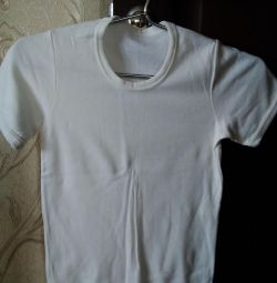 T-shirt is new, for the boy, size -34