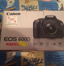Canon 600d Κάμερα