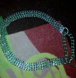 Collar noose metal triple for dogs 50s