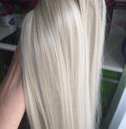 Păr termos pe coșuri de păr