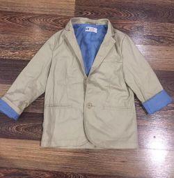 Піджак на хлопчика 6-7 років