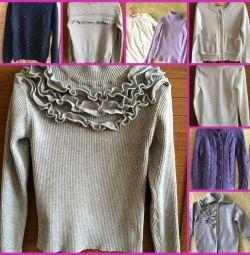 Turtlenecks, sweaters