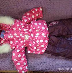 Χειμερινό κοστούμι για κορίτσι