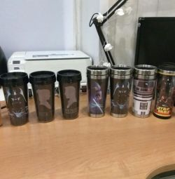 Thermo mugs in assortment