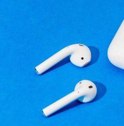 Беспроводные наушники Apple AirPods iFVer.12 5.0