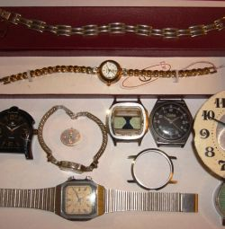 Serviceable and faulty watches (10 pcs.)