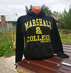Hoody μόνωση Marshall & κολλέγιο