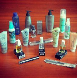 Oriflame Chic saç seti + hediyeler