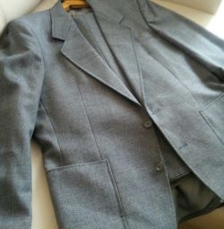 Male suit (jacket and trousers)