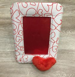 Photo frame (heart)