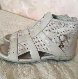 Milton Leather Sandals