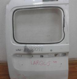 Дверь багажника левая Lada Largus oem 901015964R (вмятина) (скл-3)