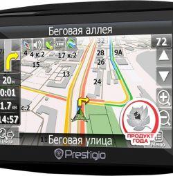 Навигатор GPS prestigio Geo Vision 7900btfmtv