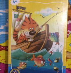 Παιχνίδι αλιείας γάτας