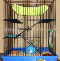 cells for rodents of ferrets 60х40х60cm 70х40х60cm