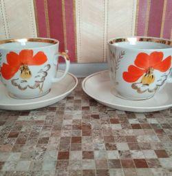 Чайные пары,4 шт