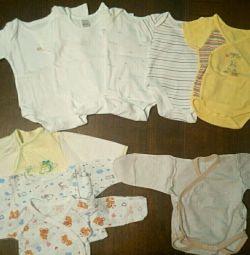 Corp, tricouri (0-3 luni)