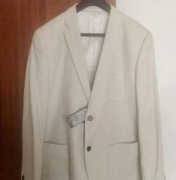 Продам абсолютно новий білий модний піджак