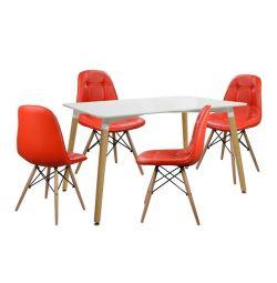 SET TABLES 5T TABLE MINIMAL 120X80-NELY KOKK