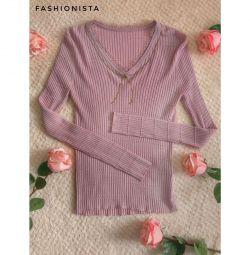 Кофта блуза трикотаж новая