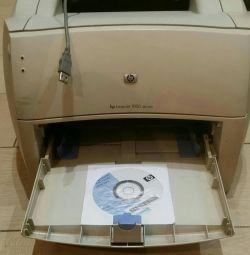Hp laserjet 1000 seria de imprimante
