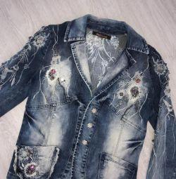 эксклюзивная джинсовка