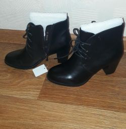 New ankle boots 37 p.