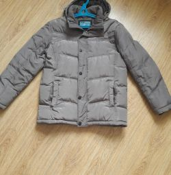 The jacket is man's, winter, size 48-50