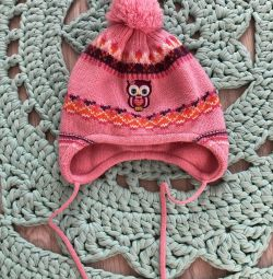 Girl's hat baby raccoon, 44-46