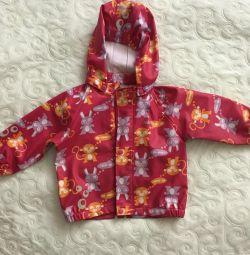 Reima raincoat for girls 1-2 years