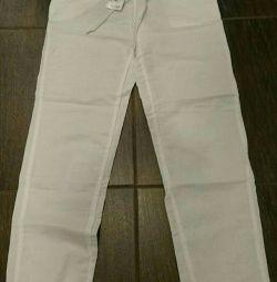 Trousers female summer Terranova XXS