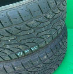 Two tires summer 17 radius Performance