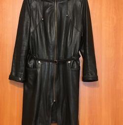 Пальто кожа Турция