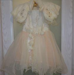 Festive dress with bolero