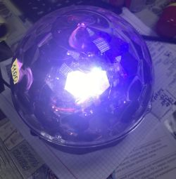 Disco ball with flash drive