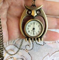 Pendant-watch Owl