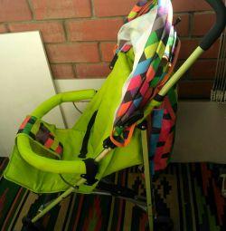 Stroller cane for travel