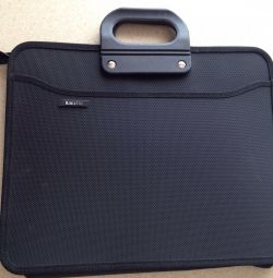 bag -portfolio for office, laptop, documents