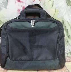 Bag bag briefcase on a long handle
