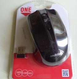 Ποντίκι ασύρματο ONE SBM-352AG-K μαύρο SMARTBUY