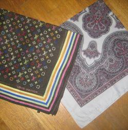 Платки с содержанием шерсти