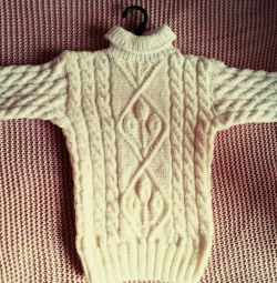 Платье(ручная вязка,новое) на 3-4 года