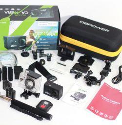 Delivery Action Camera 4K Wi-Fi Remote 12Mp Screen