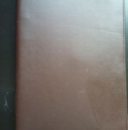 Leather folder of the USSR