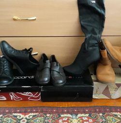 4000 μπότες χειμώνα το φθινόπωρο, μπότες, μπότες αστράγαλο