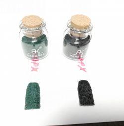 Σχέδιο βελούδου για τα νύχια