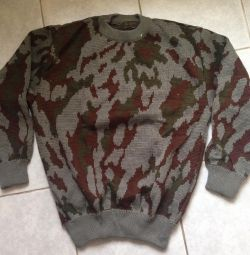 Sweater military old sample